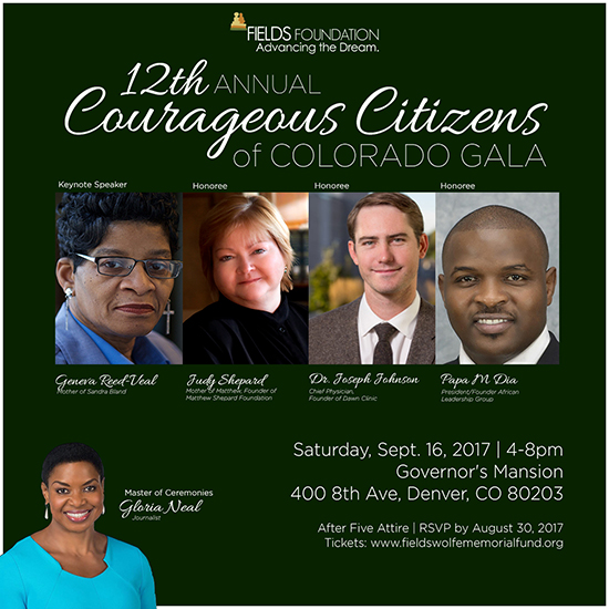 12th Annual Corageous Citizens of Colorado Gala